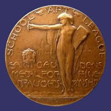THe St. Gaudens Medal for Fine Draughtsmanship, School Art League