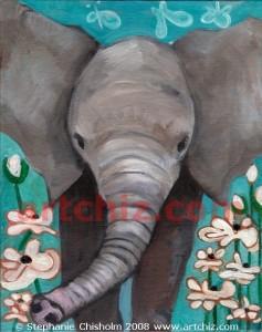 Baby Elephant Frolick abc